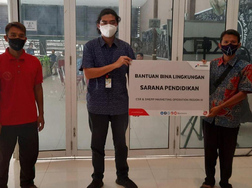 Pertamina Hibahkan Rp 1 M untuk Fasilitas Pelatihan UMKM