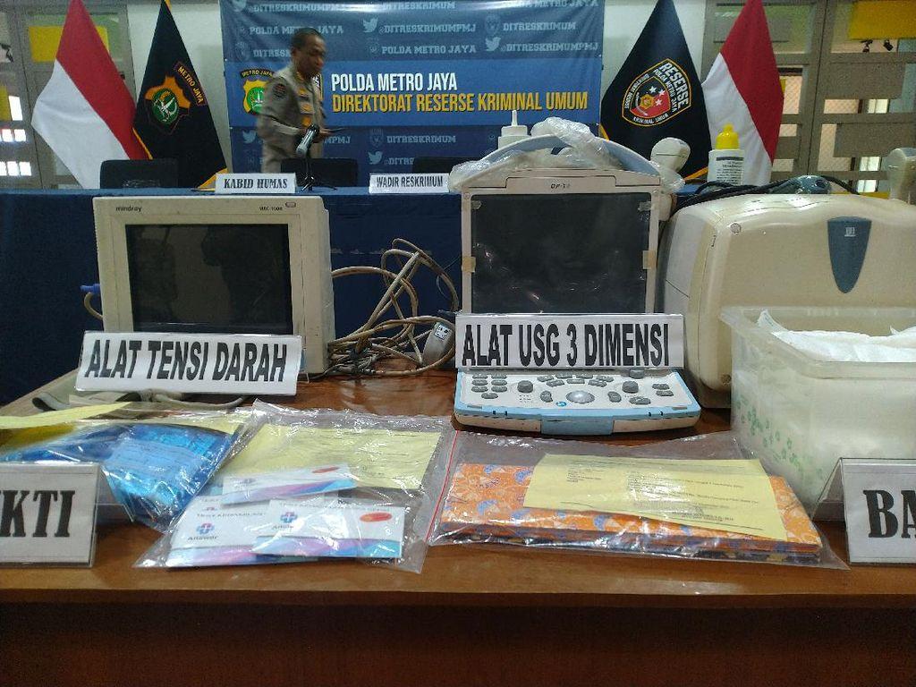 Polisi: Klinik Aborsi di Jakpus Gugurkan 32.760 Janin, Omzet Rp 10 M