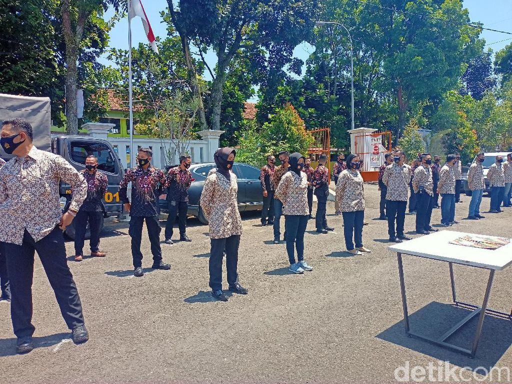 36 Polisi Terlatih Akan Kawal 3 Paslon di Pilbup Bandung 2020
