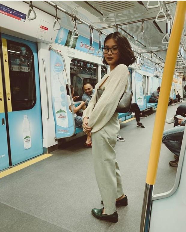 Gaya stylish Adira Kania, putri Ikke Nurjanah, Ikke Nurjanah, artis, pedangdut