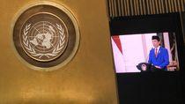 Momen Jokowi Pidato Perdana di Sidang Umum PBB
