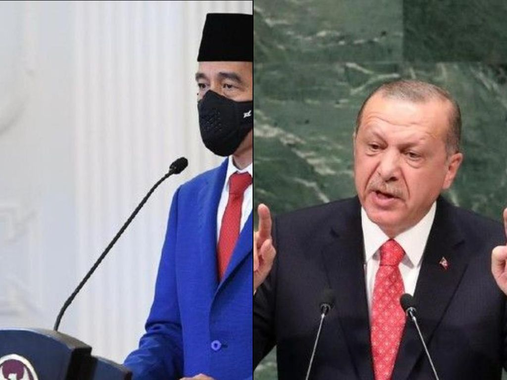 Seiya Seirama Erdogan-Jokowi Demi Kemerdekaan Palestina