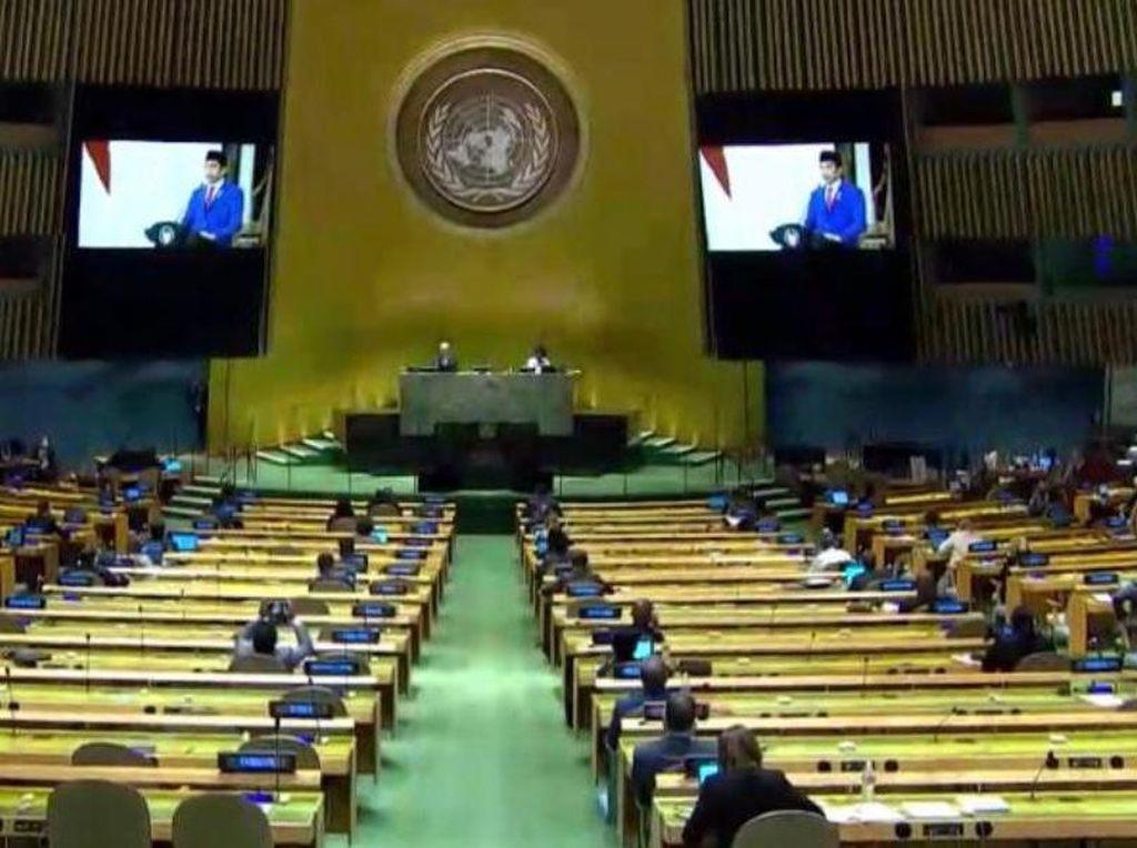 Video Sidang PBB, Jokowi Sebut Vaksin Corona adalah Game Changer