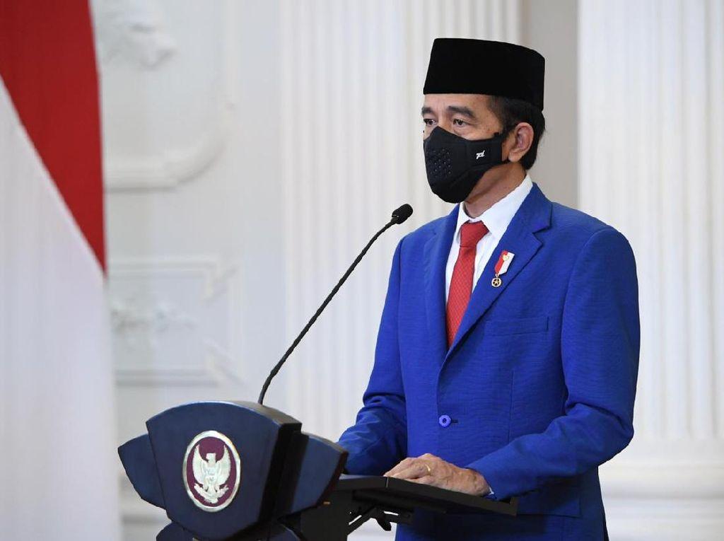 Jokowi: Bank Tanah di UU Cipta Kerja Penting untuk Jamin Kepemilikan Tanah