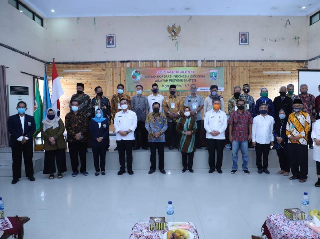Jadi Ketua Dewan Koperasi Banten Lagi, Ini Program Andalan Ratu Tatu