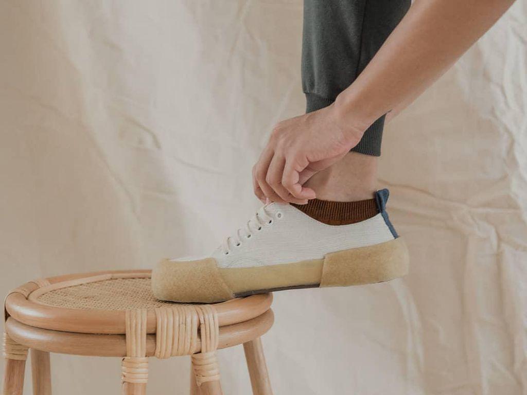 Sneakers Eceng Gondok Pekalongan Mendunia, Diekspor ke Swiss
