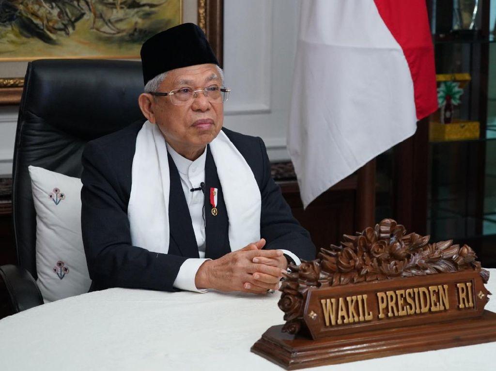 Wapres Maruf Amin Berduka dan Kehilangan Ustaz Tengku Zul
