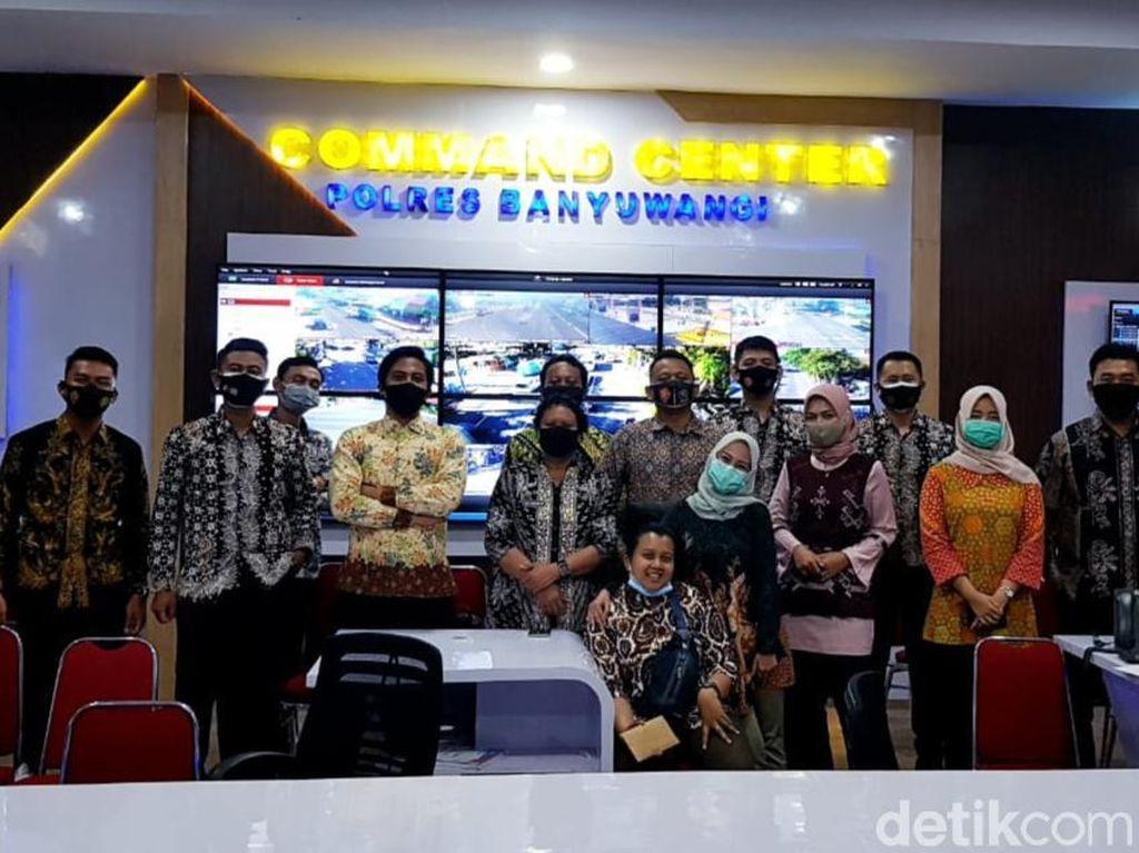 Usai Penetapan, Paslon di Banyuwangi Kini Dapat pengawalan Pribadi
