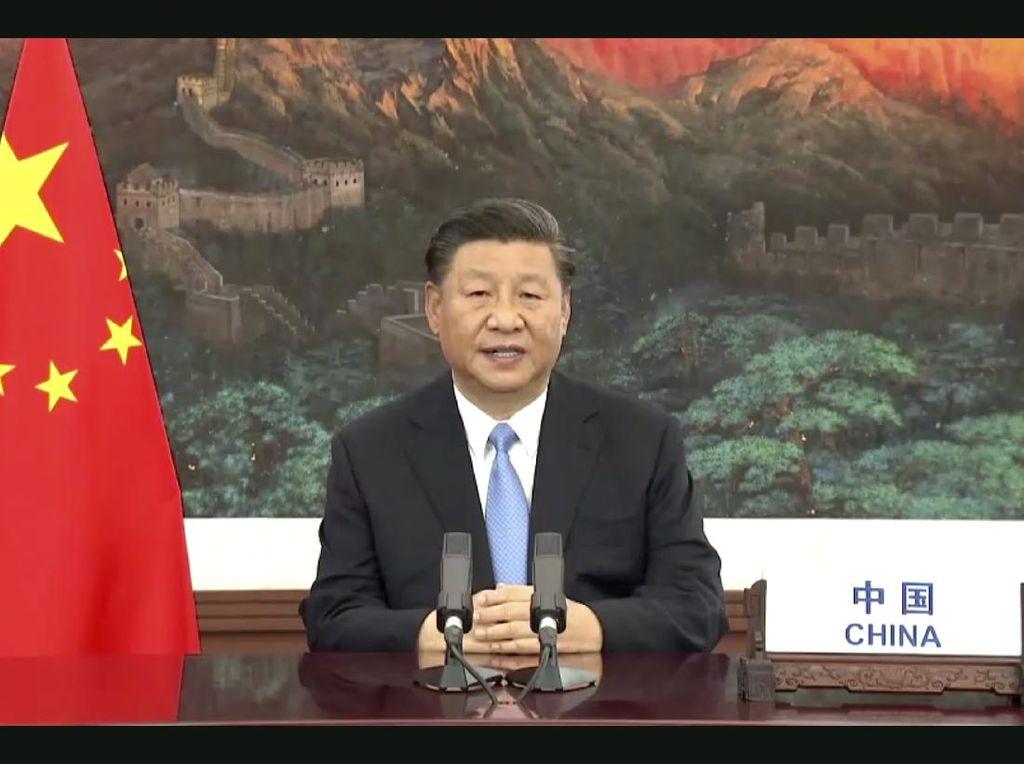 Xi Jinping Sebut Kebahagiaan di Xinjiang Meningkat, Iran Pamer Rudal Terbaru
