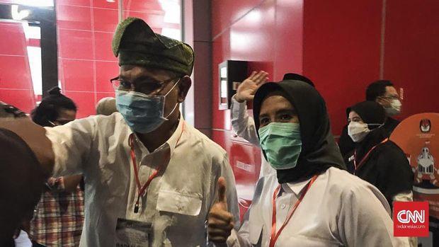 Calon Wali Kota dan Wakil Wali Kota Medan Akhyar Nasution - Salman Alfarisi (AMAN) mendapat nomor urut 1 dalam Rapat Pleno Terbuka Pengundian dan Penetapan Nomor Urut untuk Pilkada Medan 9 Desember 2020.