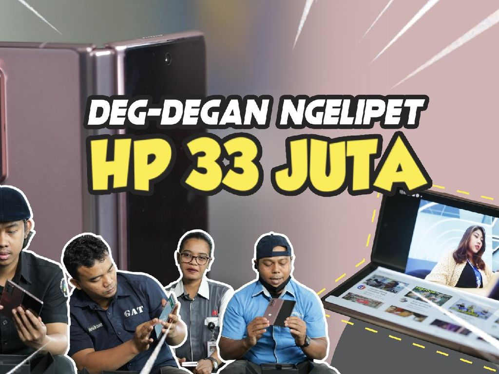 Terpesona! Pertama Kali Dalam Hidup Megang HP Rp 33 Juta