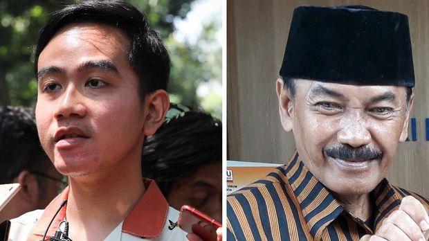 Foto Combo Gibran Rakabuming (kiri) dan Bagyo Wahyono (kanan).