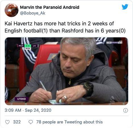Kai Havertz, netizen