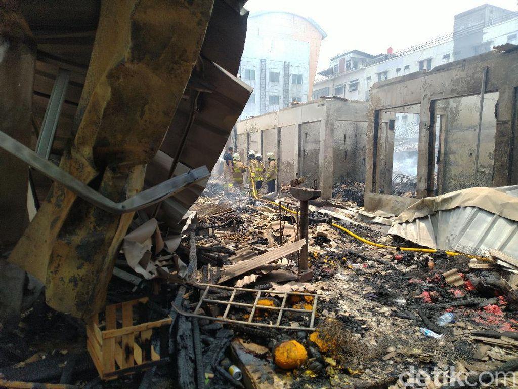 Saksi Kebakaran Pasar Cempaka Putih: Bermula dari Ledakan