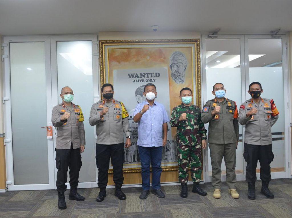 Ketua DPRD DKI Rapat dengan Kapolda-Pangdam Jaya Bahas Raperda COVID-19