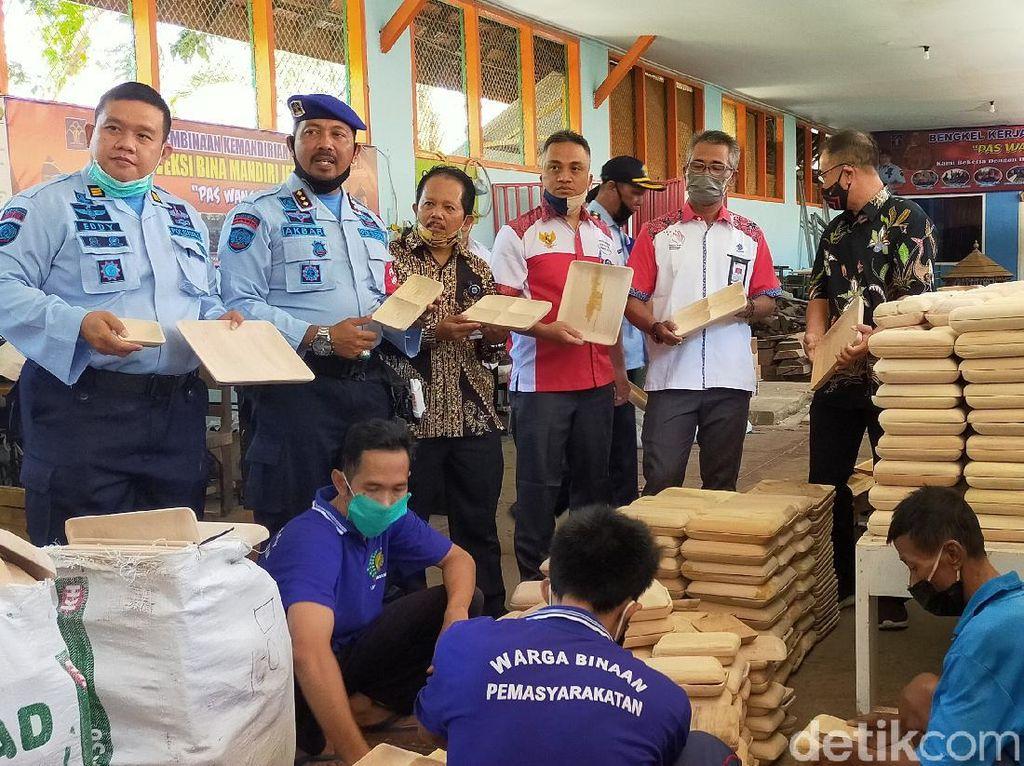 Handicraft Warga Binaan Lapas Banyuwangi Diminati 5 Perusahaan Besar Dunia