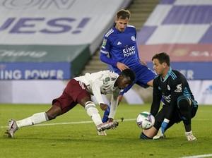 Piala Liga Inggris: Arsenal Tundukkan Leicester 2-0