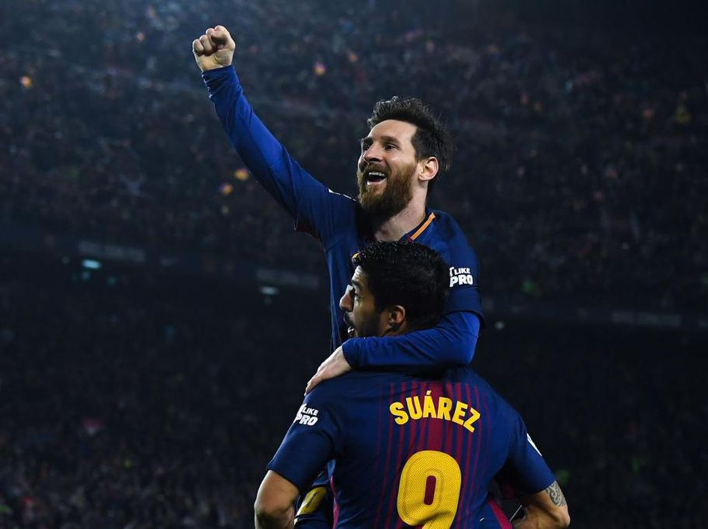 Messi: Transfer Suarez ke Atletico Itu Gila
