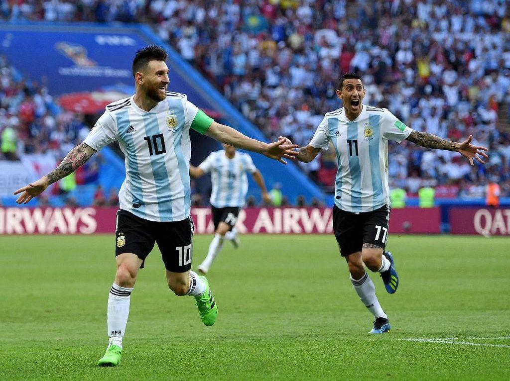 Terungkap! Di Maria Memang Sempat Rayu Messi agar Mau ke PSG