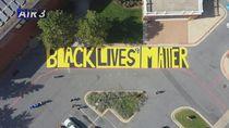 Mural Black Lives Matter Muncul Lagi Protes Kasus Penembakan Breonna Taylor