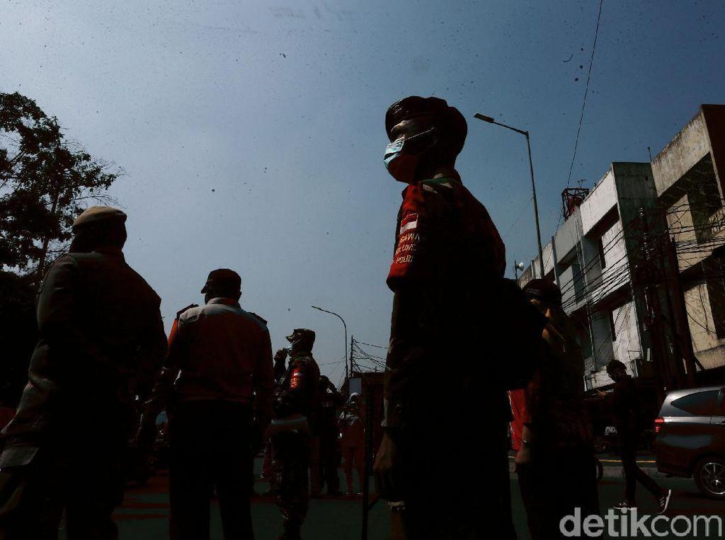 Polisi: Banyak Warga Pekanbaru Abaikan Protokol Kesehatan Corona