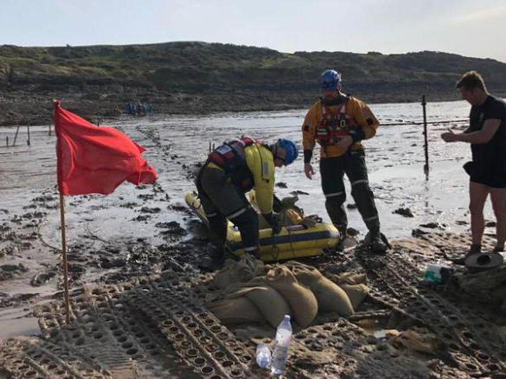 Bom Perang Dunia II Kembali Ditemukan, Kali Ini di Pantai Inggris