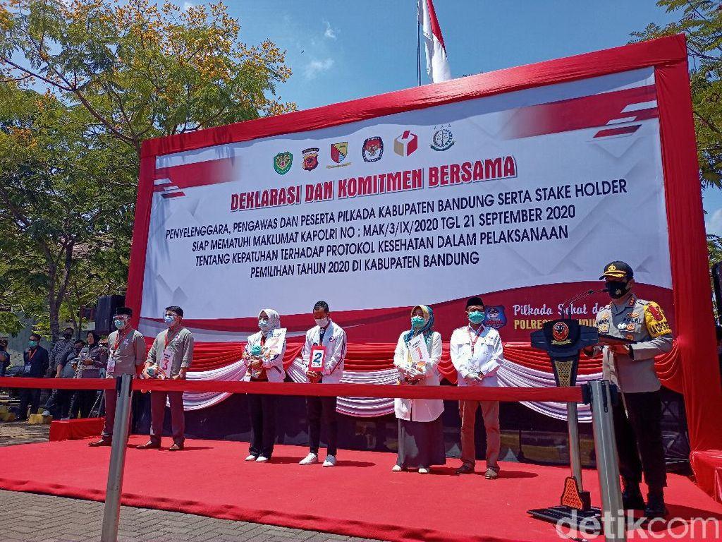 Ini Nomor Urut 3 Paslon yang Bertarung di Pilbup Bandung 2020