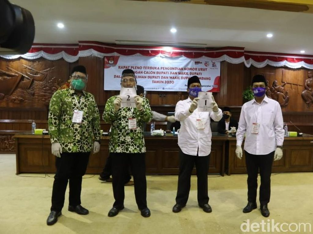 Bupati Petahana Head To Head Lawan Wakilnya di Pilbup Rembang