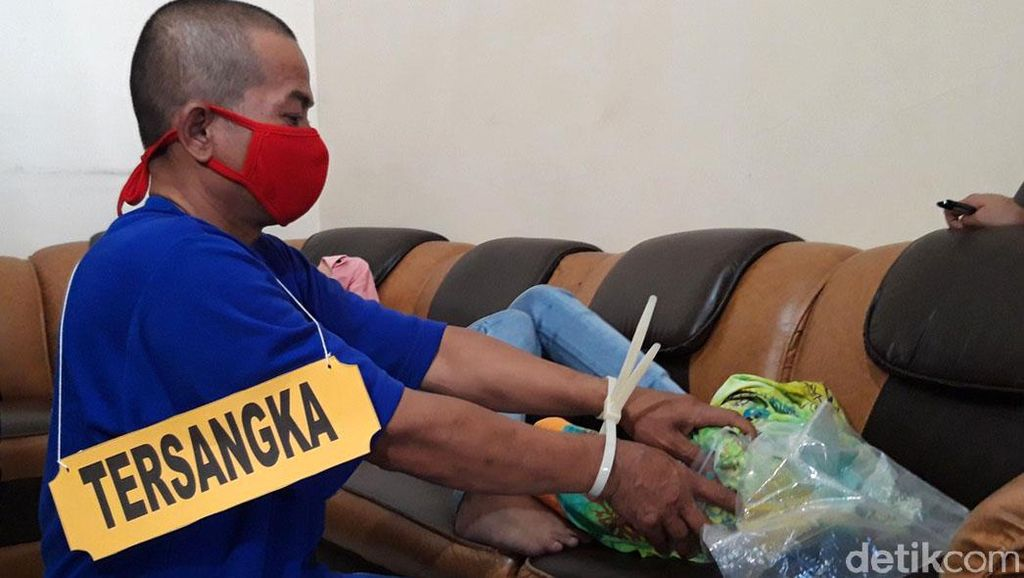 Potret Rekonstruksi Dukun Sadis Bunuh Bayi Baru Lahir di Boyolali