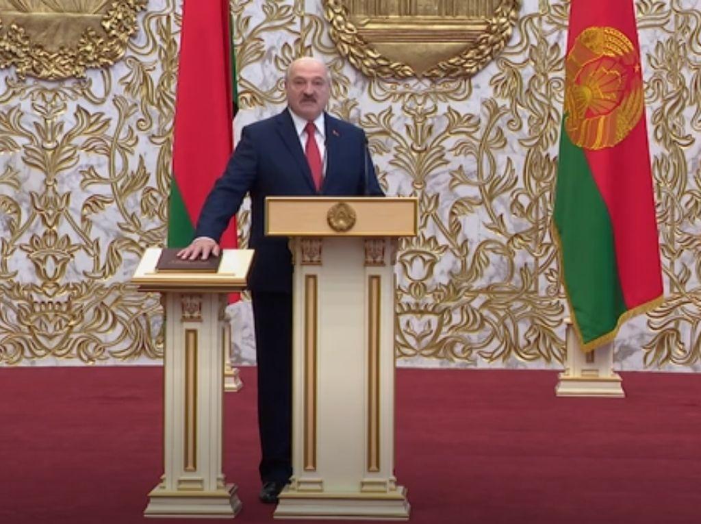 Aset Presiden Belarusia di Swiss Dibekukan