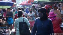 Ribuan Pedagang Pasar RI Positif Corona