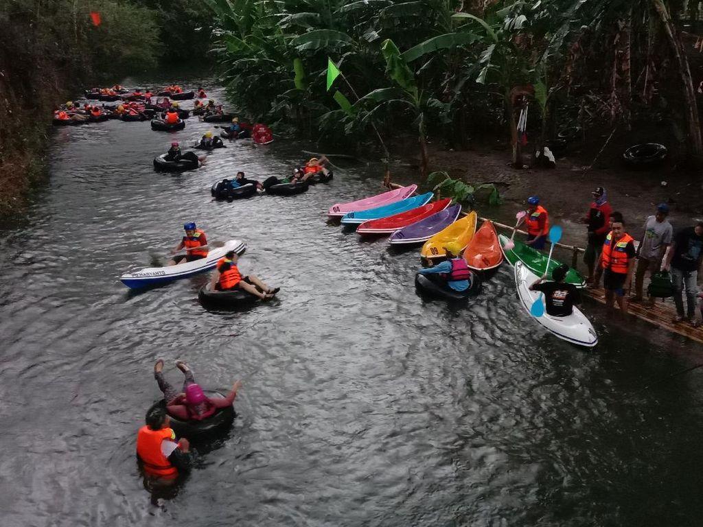 Wisata River Tubing Menantang di Kudus, Berani Coba Tidak?