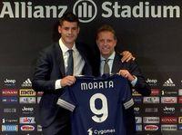 Pulang ke Juventus, Morata Targetkan Menangi Liga Champions