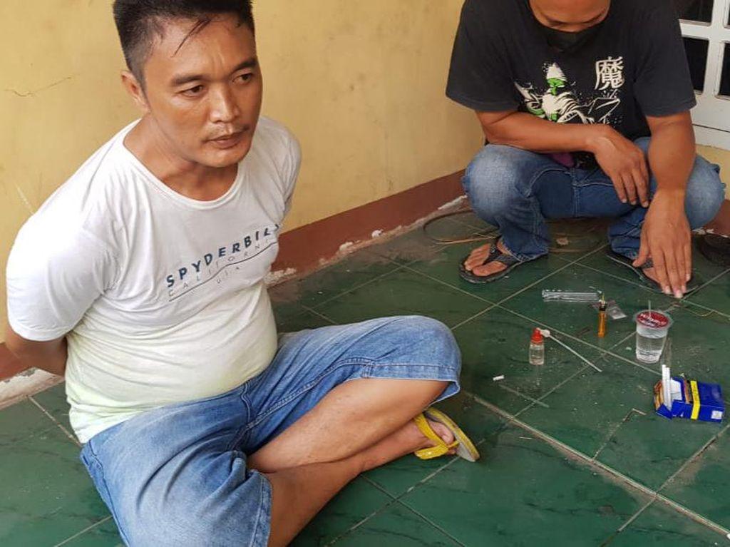 Oknum ASN di Prabumulih Tertangkap Tangan Pesta Sabu di Rumah Kosong