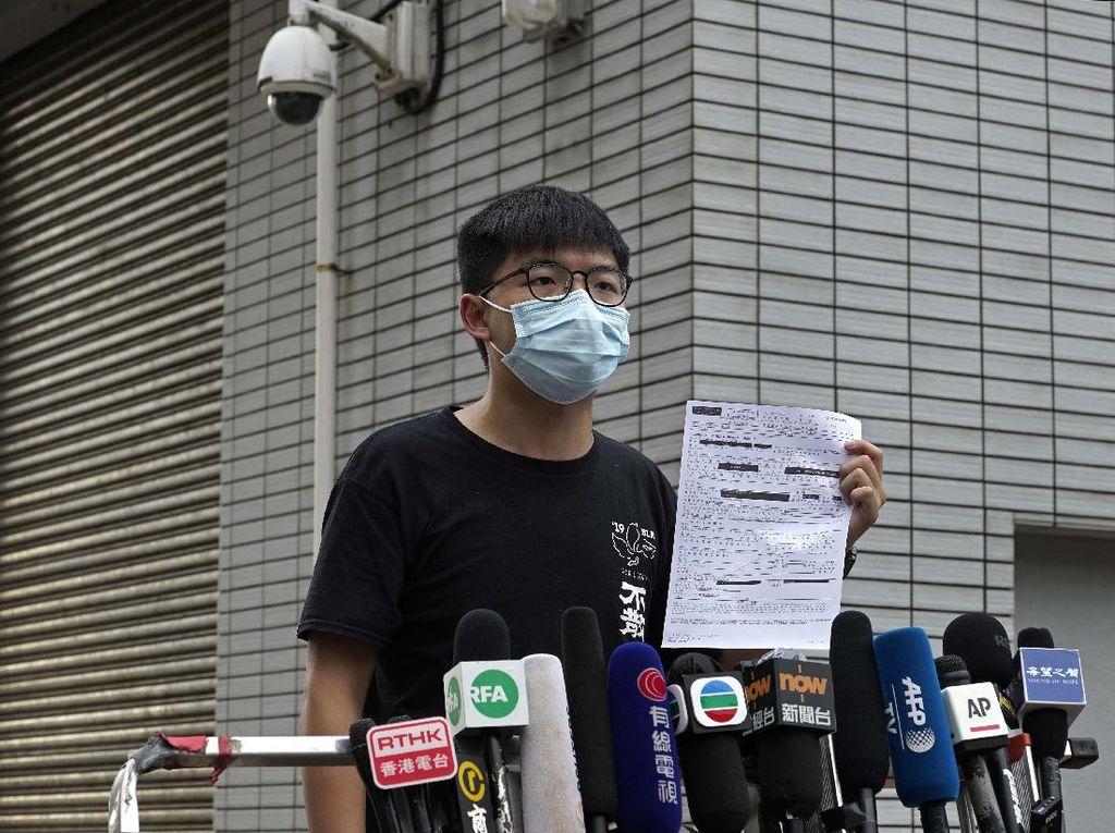 Aktivis Hong Kong Joshua Wong Akan Mengaku Bersalah di Persidangan