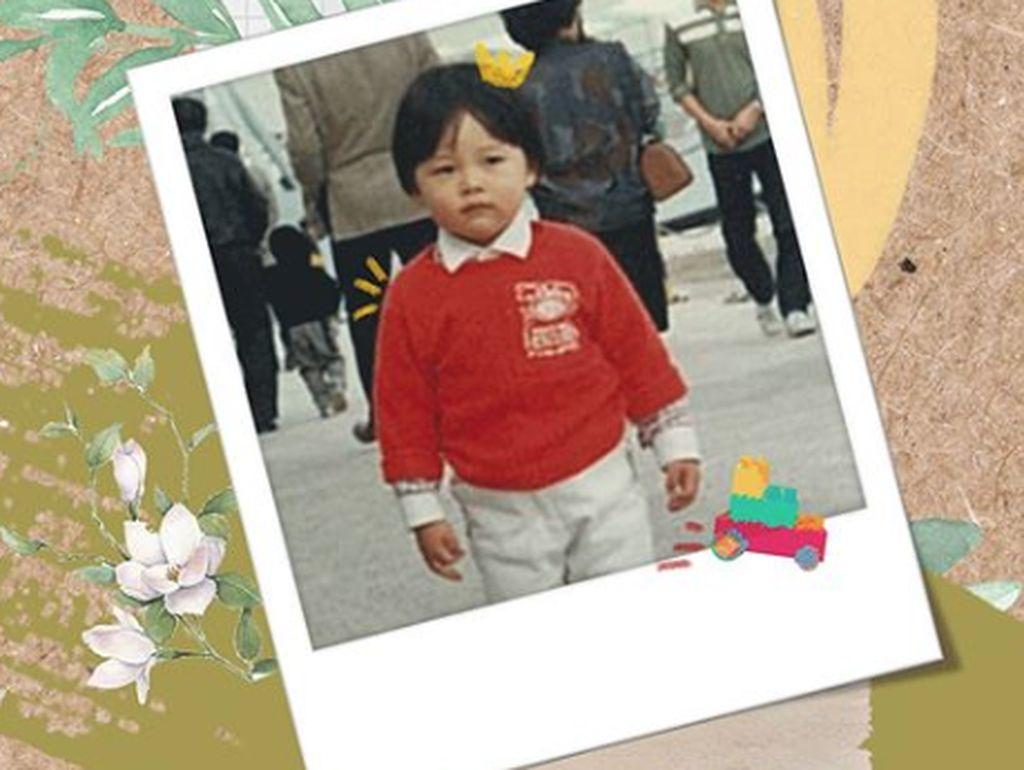 Hyun Bin Ulang Tahun, Lihat Foto Gemasnya saat Anak-anak Yuk!