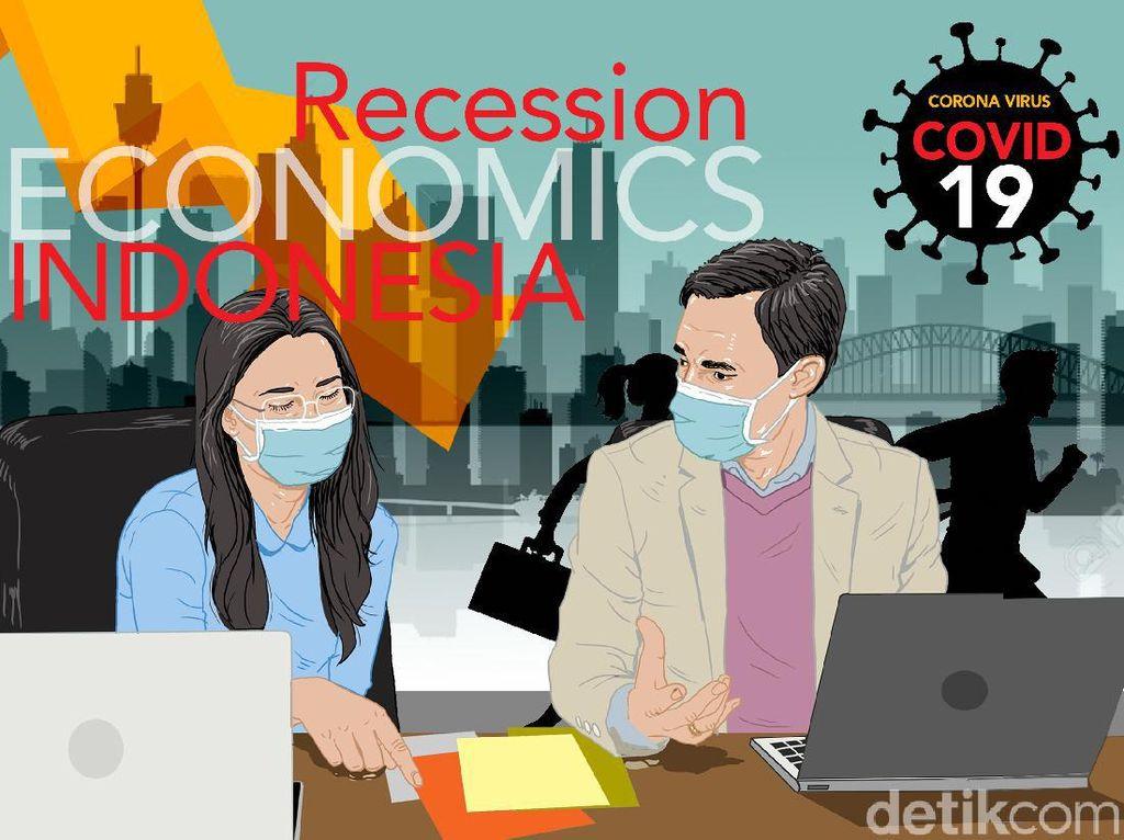 Resmi Hantam Ekonomi RI, Resesi Adalah...