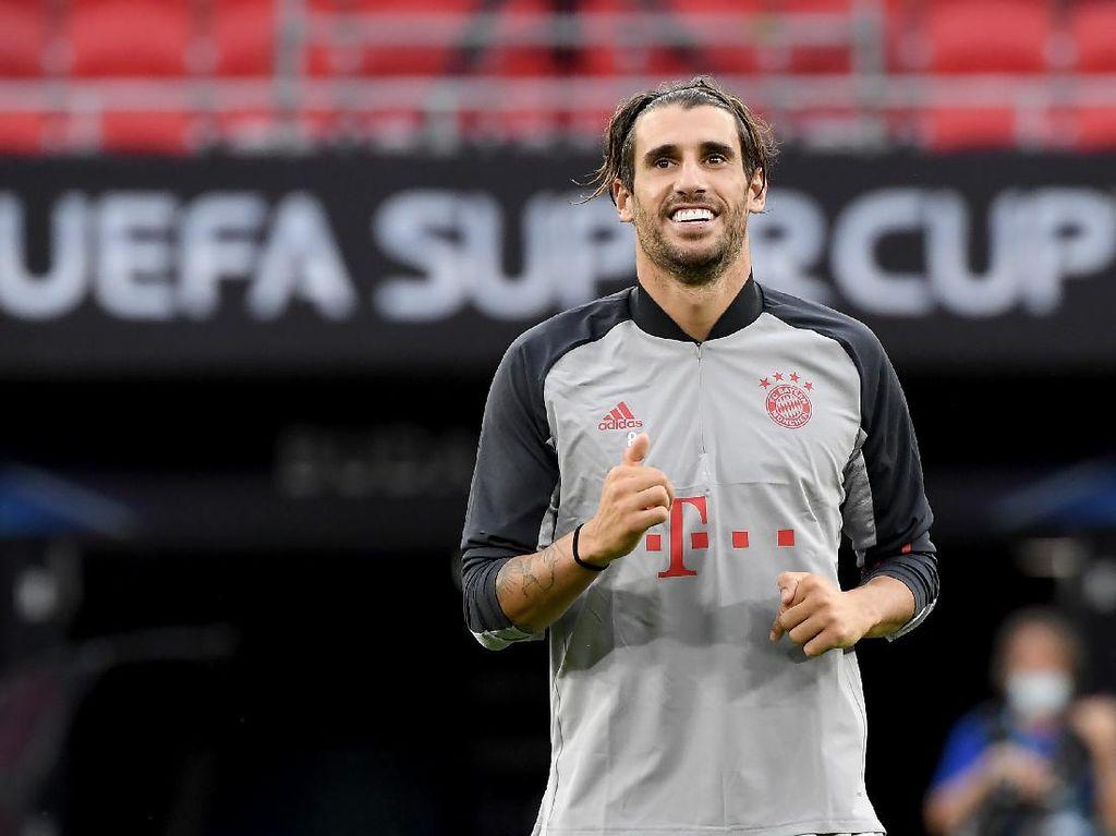 Javi Martinez si Mister Piala Super Eropa Bayern Munich