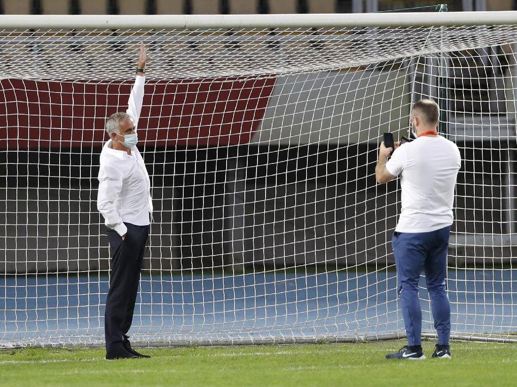 Mourinho Sempat Minta Gawang Diganti karena Terlalu Kecil