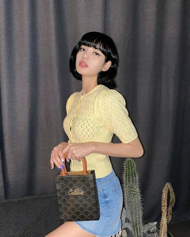 Rambut pendek ala Lisa blackpink