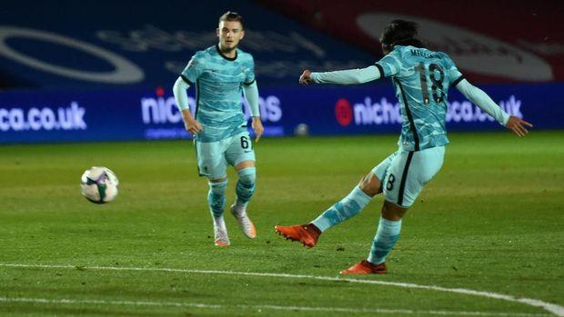Liverpool mengalahkan Lincoln City 7-2 di babak ketiga Piala Liga Inggris 2020/2021, Jumat (25/9/2020) dini hari WIB