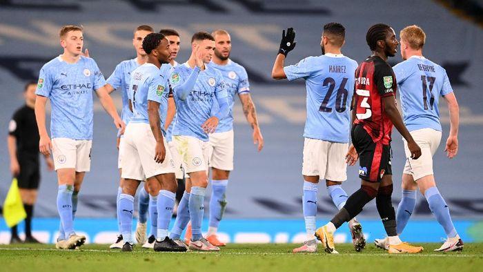 Piala Liga Inggris Man City Atasi Bournemouth 2 1