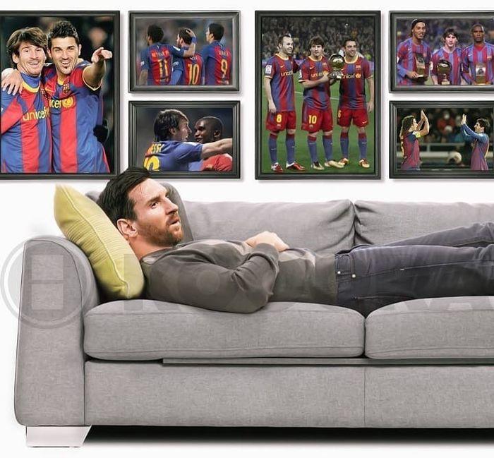 Meme Messi Sendiri