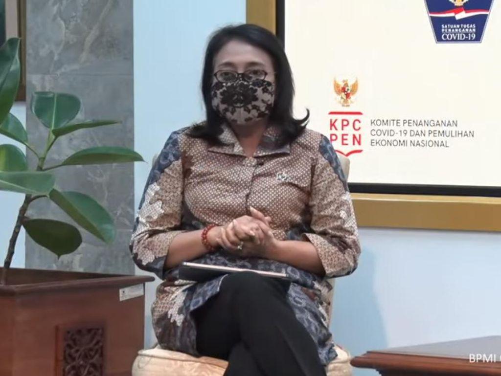 Menteri PPPA: Keluarga Terpapar Corona Harus Lapor