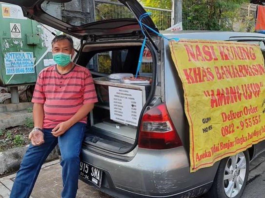 Korban PHK Ini Sekarang Sukses Jualan Nasi Kuning Beromzet Rp 17 Juta