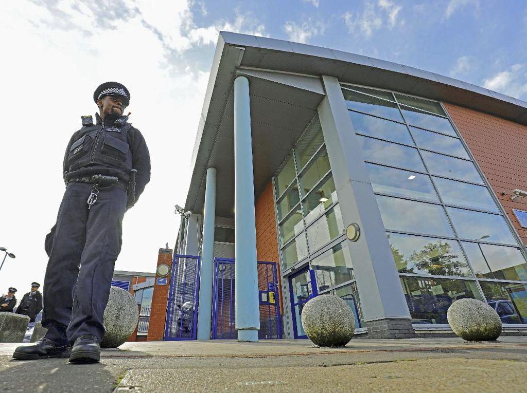 Polisi Inggris Tangkap Seorang Pria Terkait Kasus Penembakan di Tahanan