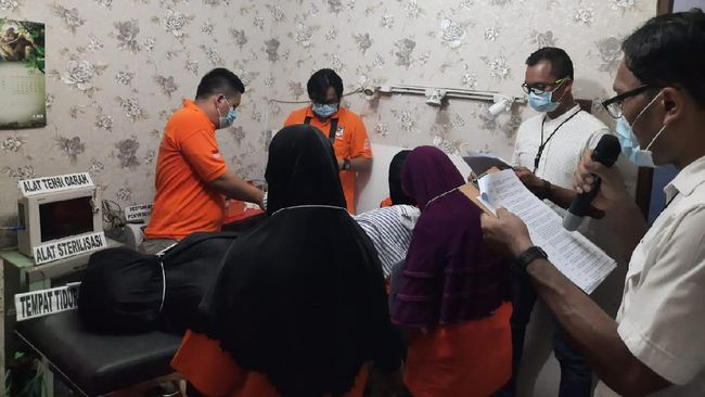 Klinik Aborsi di Jakpus Bertarif Jutaan Rupiah, Layani 6 Pasien Per Hari