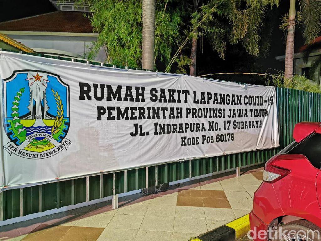 RS Darurat Jatim Telah Rawat 3.725 Pasien COVID-19, Mayoritas dari Surabaya