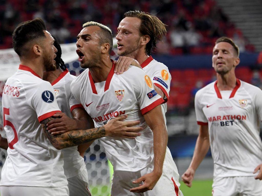 Lihat NIh! Sevilla Cetak Gol Keren Lewat 37 Operan