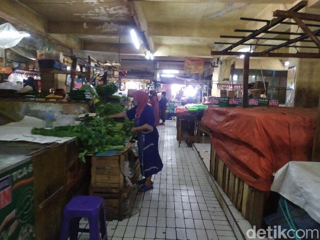 Ini Kondisi Pasar Slipi Jakbar yang Kembali Buka Usai Ada Pedagang Kena Corona